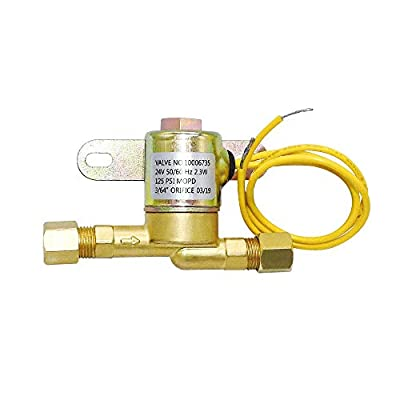 Primeswift 4040 Solenoid Valve,Brass Made Humidifier Solenoid Valve Compatible with 24 Volt Models 400,500,600,700,400,500,600,700,600M,558,550A,550,568,560A,560