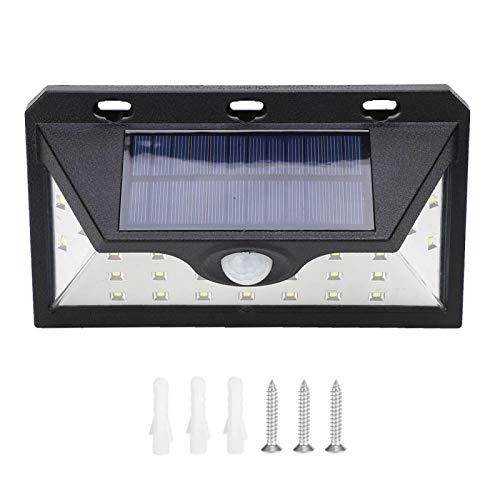 Luz de sensor de movimiento solar al aire libre 24LED B Tipo 3 modos de iluminación Seguridad impermeable Jardín Patio Deck Valla Patio Garaje