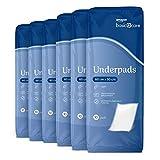Amazon Basic Care Almohadillas de protección contra pérdidas, para debajo de la cama, mesa u otras superficies, 60 cm x 90 cm (total 60)