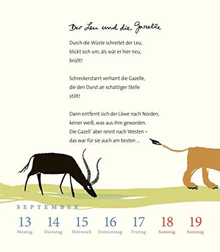 Lieterischer Kalender Heinz erhardt