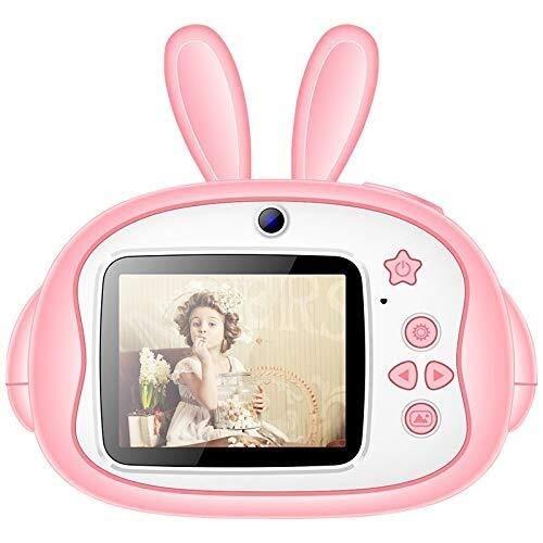 ZPWSNH Cámara For Niños, Mini Cámara Digital De Juguete con Función De Grabación De Video Inteligente HD De Alta Definición, Regalo For Niño/Niña De 3-10 Años De Edad (Color: Rosa) Cámara para niños