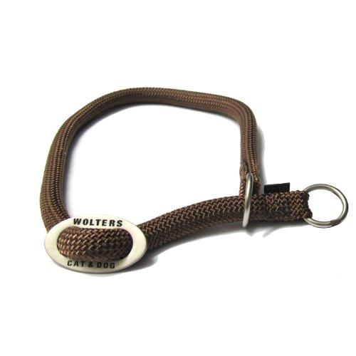 Wolters Schlupfhalsband K2 Nylon Halsband für Hunde Hundehalsband Nylonhalsband tabac XS - L