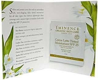 eminence cocoa latte tinted moisturizer