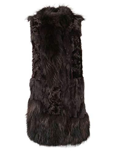 Luxury Fashion | S.w.o.r.d 6.6.44 Dames 8345CHARCOAL Bruin Wol Gilets | Herfst-winter 19