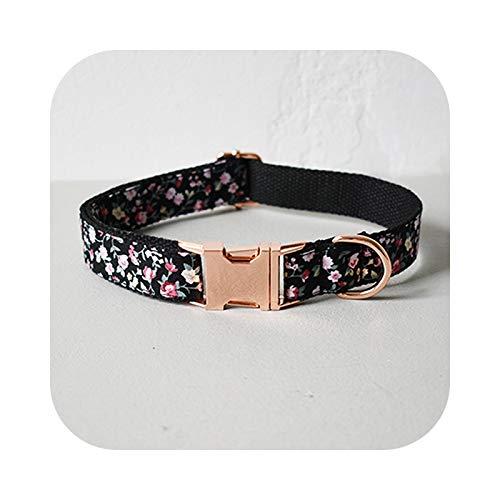 Pet Supplies - Collar de nailon para perro, suave nudo y mariposa, cuerda de tracción para animales de compañía Bulldog Frances Dog Collar-M