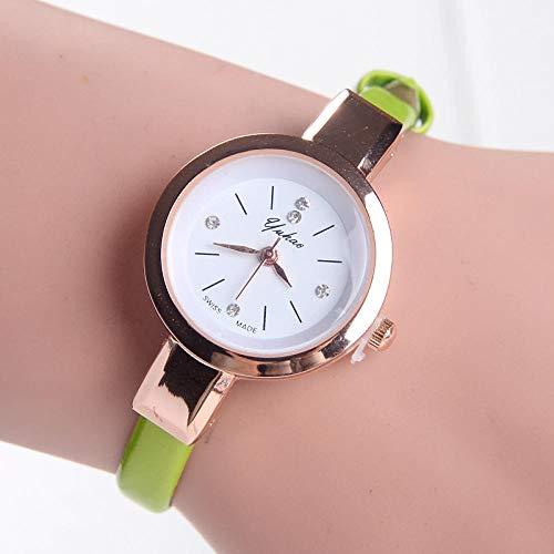 Women's Watch Hot Korean Version of The Women's Fine Belt Belt Watch Ladies Quartz Watch...