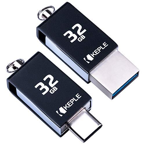 Dispositivo de Memoria USB 32GB USB C 3.0 Alta Velocidad OTG Compatible con Huawei Nexus 6P, Honor 10 9 8 8 Pro, P10 P10 Plus P20 P20 Lite P20 Pro P30 P30 Pro P30 Lite, P9 P9 Plus 32 Go Tipo C