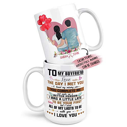 Personalized Gifts for Boyfriend and Girlfriend, Valentine