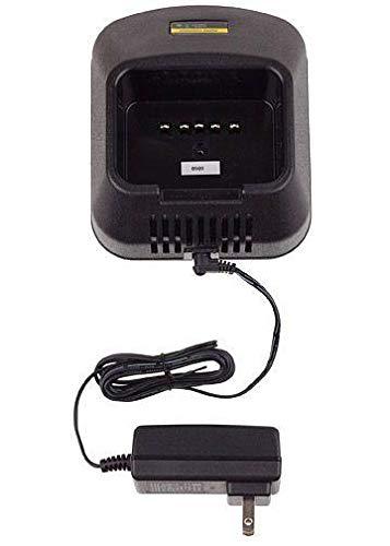 Charger for Vertex-Standard VX-537 Single Bay Rapid Desk Charger