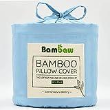 Bambaw Federa in bambù | Federe Cuscini da Letto | Federa rinfrescante Temperature Contro...