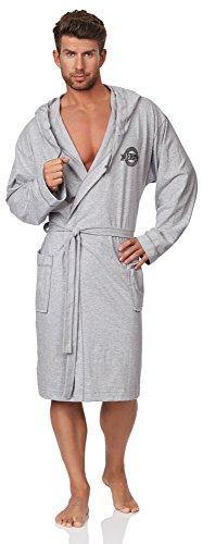L&L Robe de Chambre Homme Peter (Mélange, M)