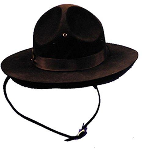 Costumes pour toutes les occasions Ga32Lg campagne Hat Grand