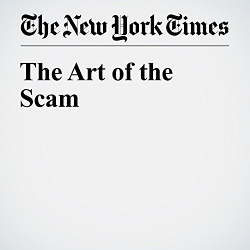 The Art of the Scam cover art