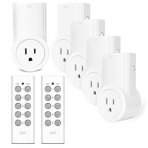 Etekcity Remote Control Outlet Kit Wireless Light Switch for Household Appliances, Pair Freely, Up