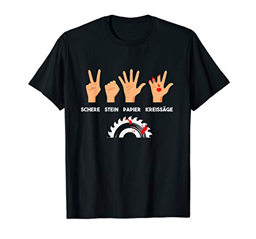 Tischler Shirt Zimmermann Holz Basteln Heimwerker Schreiner T-Shirt