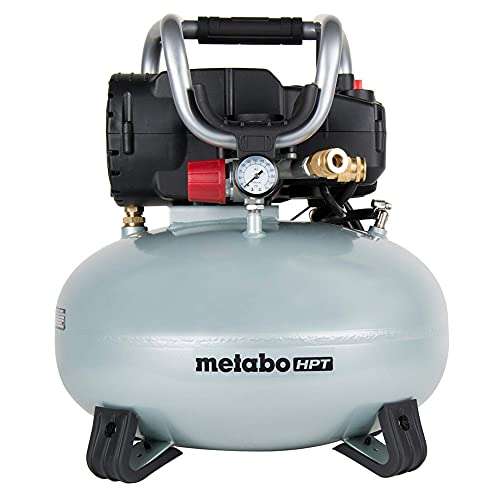 Metabo-HPT EC710SM 6-Gallon Oil-Free Pancake Air Compressor (Renewed A)