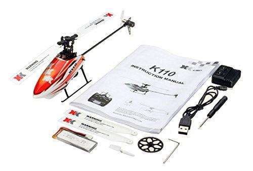 MeterMall XK K110 Brushless RC Hubschrauber RTF / BNF f¨¹r Kinder Kinder Lustige Spielzeug Geschenk RC Drones Outdoor K110 ohne Fernbedienung