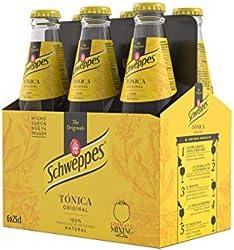 Schweppes Tónica Bebida Refrescante, 6 x 25cl