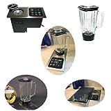 Built-in Blender In-Counter Starter Set (2 blenders included); 1000W Motor Hidden Under Counter Top; Flush Mount Stainless Steel Control Panel: (re: Nutone Food Center 251) Smoothie & Slushy maker
