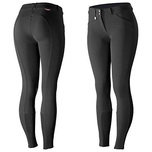 HORZE Pantalones de Montar con Refuerzo de Silicona en la Rodilla para Mujer Grand Prix