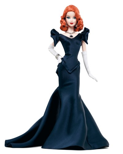 Barbie W7818 - Muñeca coleccionista con Vestido de Noche y réplica del Diamante Hope