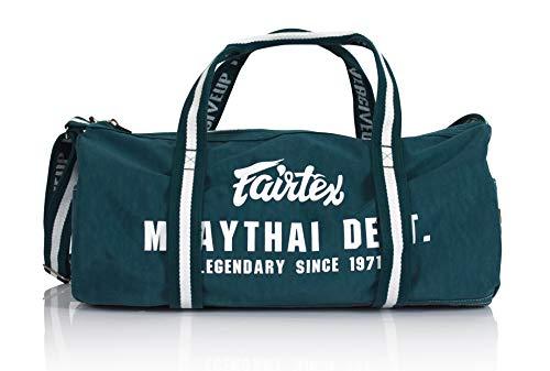 Fairtex BAG9 Retro Style Barrel Bag Thaiboxen Heavy Gym Bag Myay Thai MMA