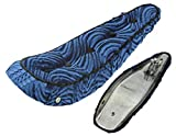 Lowrider 20' Polo Saddle W/Button Blue. Bike seat, Bicycle seat, Bike Part, Bicycle Part, Bike seat, Bicycle seat, Chopper Bike seat, Part