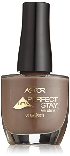 Astor Perfect Stay Gel Shine Nagellack, Farbe 505 Taupe, 1er Pack (1 x 12 ml)