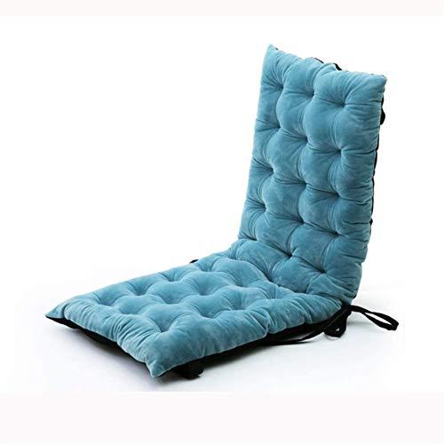 TYHZ Cojines Para Sillas Cojín de tumbona de lujo, reclinable de colector de colchón de blanqueador no deslizante grueso, almohadilla de silla lavable portátil para patio interior para exteriores100x4