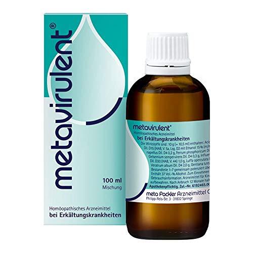 metavirulent Tropfen bei Erkältungskrankheiten, 100 ml Lösung