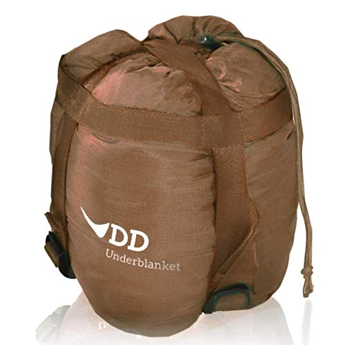 DD Underblanket Underquilt Hammocks Insulation Cold Protection Coyote Brown