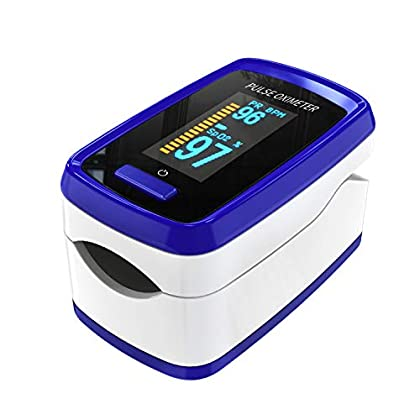 Oxímetro de pulso para dispositivo de medición de oxígeno del dedo, Pulse Oximetro el dispositivo de medición de dedo…