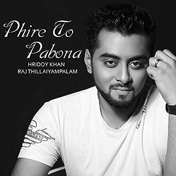 Phire to Pabona - Single