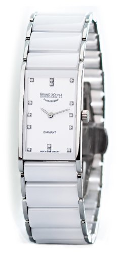 Bruno Söhnle Damen Analog Quarz Uhr mit Verschiedene Materialien Armband 17-93099-952
