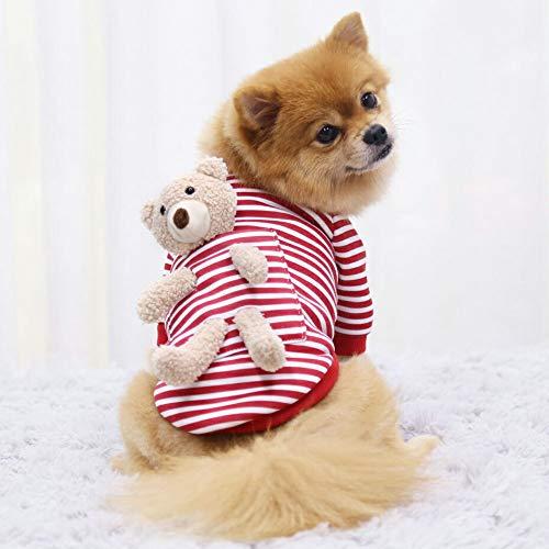 ドッグウェア トレーナー 長袖 犬用トレーナー 無地 ぬいぐるみ付 散歩着 小型犬 国産 日本製 2XL イエロー