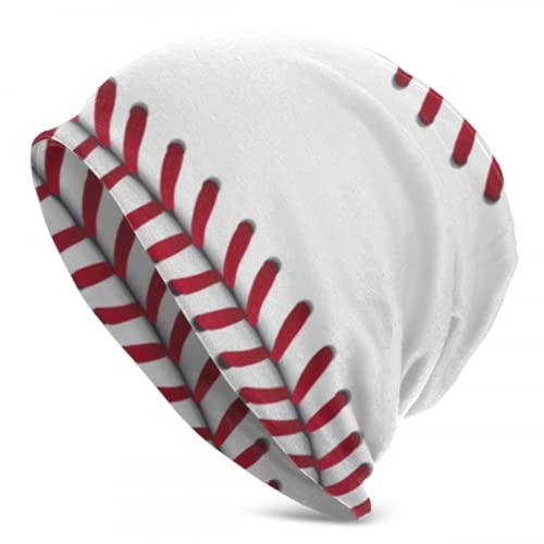 Zemivs Texture Baseball Sport Vector Illustration Ladies Knit Cap Mens Knit Hat Beanie Ladies Knit Hats Adult Beanie Cap 3D Printed Adult Comfortbale Soft