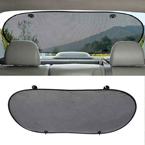 ZC Auto Sun Sun Shade Vehicle Shield Protección de Visor Back Window Shade Mesh Sunshade Scream Strally Aislamiento