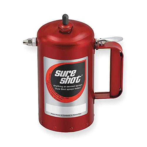 Sure Shot A1000R 1 Quart Enameled Steel Sprayer, Red