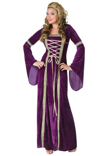 Renaissance Lady Fancy Dress Costume Small / Medium