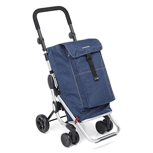 Carrello go Up portaspesa di Foppapedretti Blue Jeans