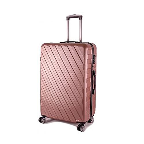 Conjunto de 3 maletas HARDCASE T-HC-04 Oro Rosa