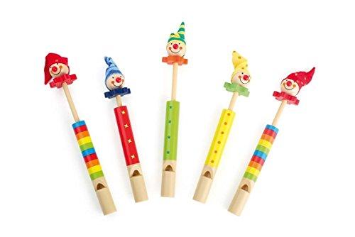 Flûtes «Clowns»