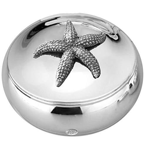SILBERKANNE Dose Bonboniere Seestern D 6,5 cm Silber 925 Sterling in Premium Verarbeitung