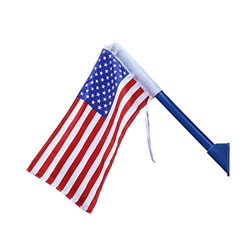Gorilla Playsets 09-1014-US American Flag Swing Set Accessory with Mounting Hardware, Red, White, and Blue