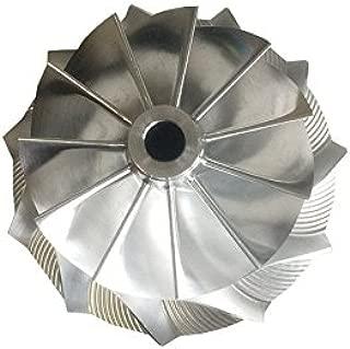 GENERIC RHF5HB 46.50/59.94mm 11+0 blades high performance Turbo Billet/milling/aluminum 2618 compressor wheel for SUBARU VF30/VF34/VF35/VF36/VF37/VF39/VF41/VF42/VF43/VF48/VF52