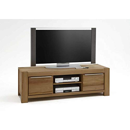 Elfo TV-Kommode Lowboard Sophia XXL Wildeiche-massiv geölt B 195 cm NEU/OVP