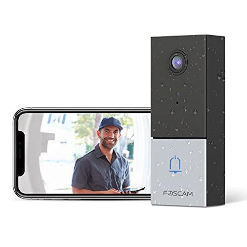 Foscam 2K/4MP Video Doorbell Camera DBW5 Only $64.99 (Retail $129.99)