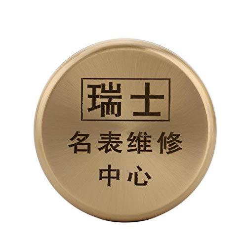 Cilindro de Acero Inoxidable Duradero y Resistente, Piezas de Reloj de Pulsera, Herramienta de Aceite para Relojes, Olla Limpia para Reloj, Profesional para Bricolaje Hecho a Mano para