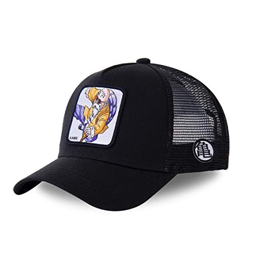 Capslab - Gorra de béisbol, diseño de Dragon Ball Z Kame Tortue Génial 2 (Noir) Talla única