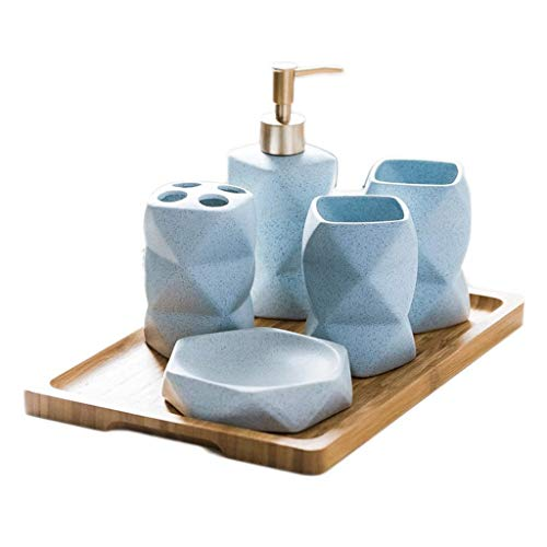 Dispensador de Jabón/Botella de jabón 6 impresionante pieza de baño accesorios determinados...